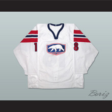 Norway National Team Eskild Dahlstrom Hockey Jersey