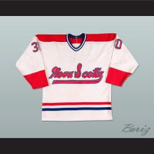 Nova Scotia Voyageurs Hockey Jersey White