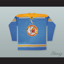Pittsburgh Hornets Hockey Jersey Blue