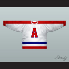 New York Americans 1940-41 Alternate Hockey Jersey Any Player or Number New