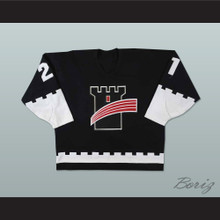 Quebec Remparts Black Hockey Jersey