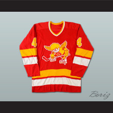 Ray McKay WHA Minnesota Fighting Saints Hockey Jersey