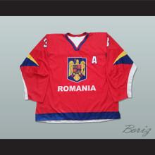 Szabolcs Papp Romania Hockey Jersey