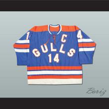 Earl Heiskala 14 San Diego Gulls Hockey Jersey