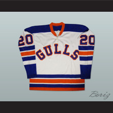 Willie O'Ree San Diego Gulls Old School Hockey Jersey