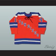 Gerry Pinder San Diego Mariners Hockey Jersey
