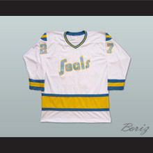 Gilles Meloche 27 Golden Seals Hockey Jersey