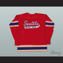 Seattle Iron Men Hockey Jersey