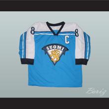 Teemu Selanne Finland Hockey Jersey