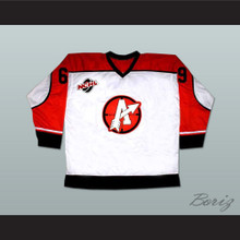 "Doug ""The Thug"" Glatt 69 Orangetown Assassins Hockey Jersey Includes NCHL Patch White"