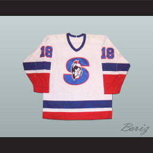 Ari Haanpaa Springfield Indians Hockey Jersey