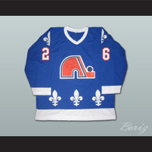 Peter Stastny 26 Quebec Nordiques Hockey Jersey