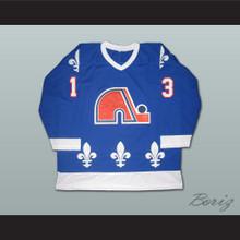 Mats Sundin 13 Quebec Nordiques Hockey Jersey