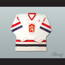 Team Czechoslovakia Suchanek 5 Hockey Jersey