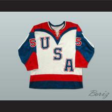 Team USA Tie Down Hockey Jersey