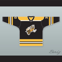 Toledo Hornets Black Hockey Jersey