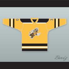 Toledo Hornets Yellow Hockey Jersey