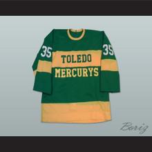 Toldeo Mercurys Pearce 35 Hockey Jersey