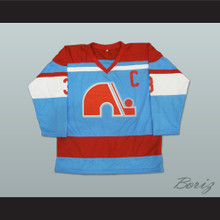 Jean-Claude Tremblay 3 Quebec Nordiques Hockey Jersey