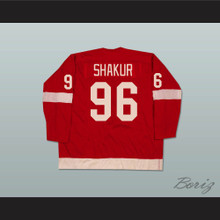 Tupac Shakur 96 Hockey Jersey