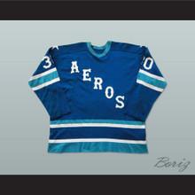 Wayne Rutledge Houston Aeros Hockey Jersey