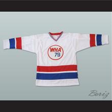 Gordie Howe 9 Hockey Jersey WHA 79