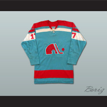 Yves Bergeron WHA Quebec Nordiques Hockey Jersey