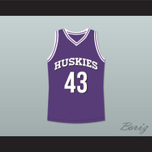 Marlon Wayans Kenny Tyler 43 Huskies Basketball Jersey The 6th Man New