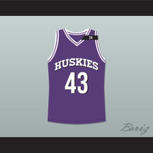 Marlon Wayans Kenny Tyler 43 Huskies Basketball Jersey The 6th Man Tribute