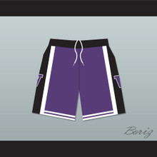 The 6th Man Huskies Purple Basketball Shorts