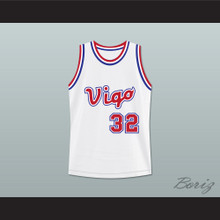 Monica Wright 32 Vigo Basketball Jersey Love and Basketball