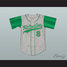 Kofi Evans 8 Kekambas Baseball Jersey Hardball New