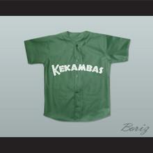 Jarius 'G-Baby' Evans 1 Kekambas Baseball Jersey Hardball Dark Green New