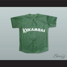 Kofi Evans 8 Kekambas Baseball Jersey Hardball Dark Green New