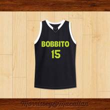 Team Bobbito 15 Basketball Jersey Brooklyn Bridge Reunion Game by Morrissey&Macallan