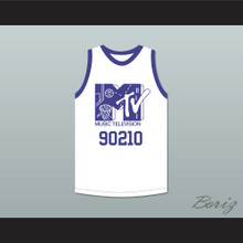 Luke Perry 90210 Basketball Jersey First Annual Rock N' Jock B-Ball Jam 1991
