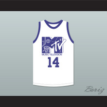 Mark Wahlberg 14 Basketball Jersey First Annual Rock N' Jock B-Ball Jam 1991