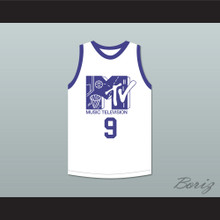 Dan Majerle 9 Basketball Jersey First Annual Rock N' Jock B-Ball Jam 1991