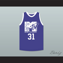 Reggie Miller 31 Basketball Jersey First Annual Rock N' Jock B-Ball Jam 1991