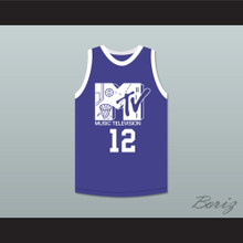 Vlade Divac 12 Basketball Jersey First Annual Rock N' Jock B-Ball Jam 1991