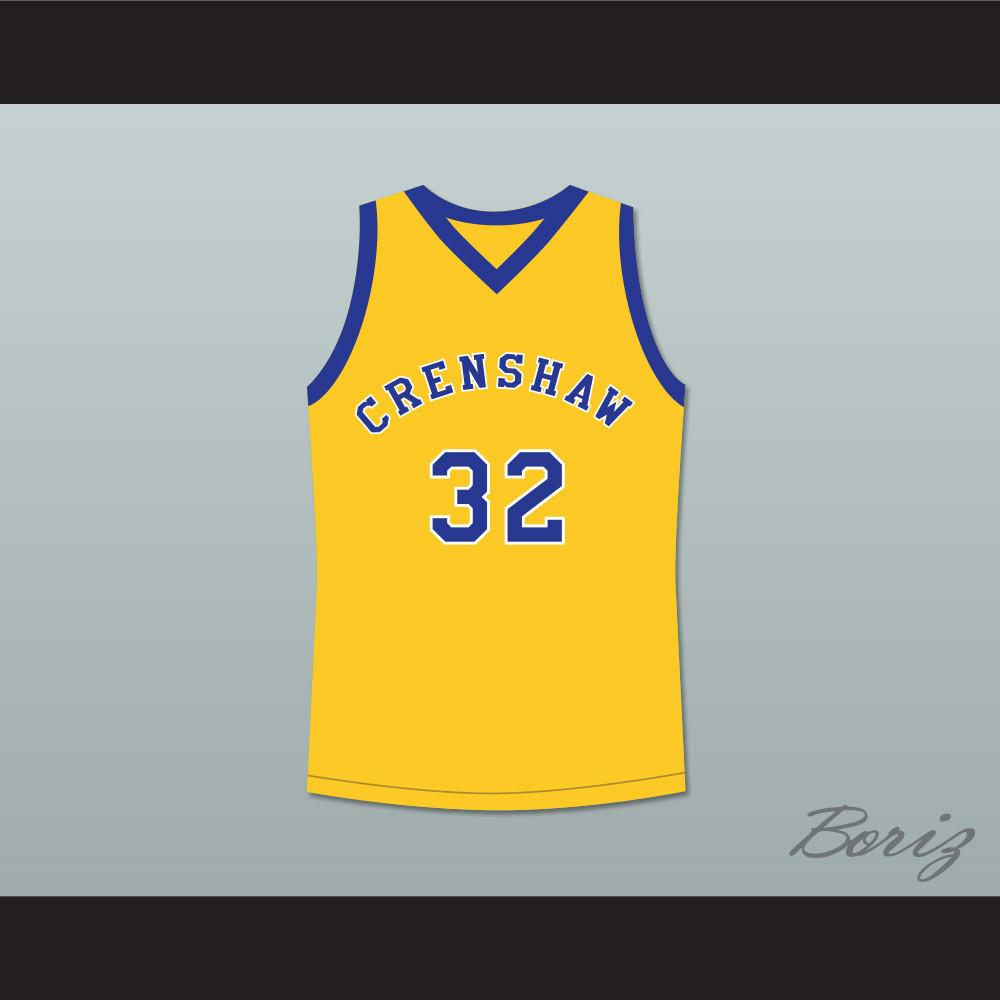 Monica Wright 32 Crenshaw High School Yellow Basketball Jersey Love and  Basketball. Price   45.99. Image 1 e443d4c17