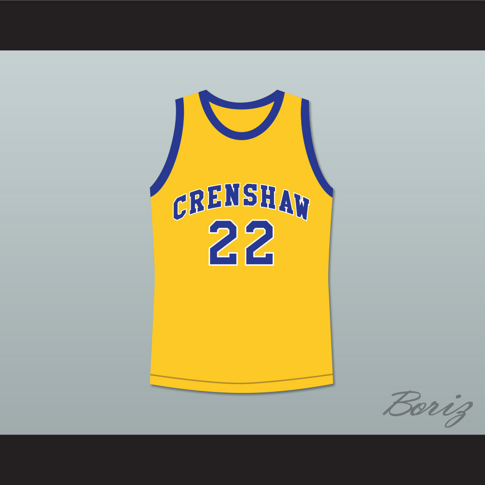 0bd0839592eb Quincy McCall 22 Crenshaw High School Yellow Basketball Jersey Love and  Basketball. Price   45.99. Image 1