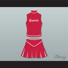 Kelly Kapowski Bayside Tigers High School Cheerleader Uniform Saved By The Bell