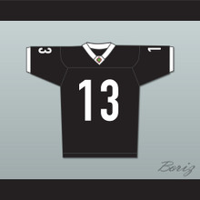 Willie Beamen 13 Miami Sharks Football Jersey White Trim Any Given Sunday Includes AFFA Patch