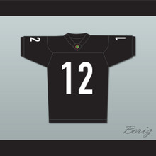 Patrick O'Hara Tyler Cherubini 12 Miami Sharks Football Jersey Any Given Sunday Includes AFFA Patch