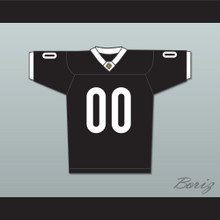 Sharks Mascot 00 Miami Sharks White Trim Football Jersey Any Given Sunday Includes AFFA Patch