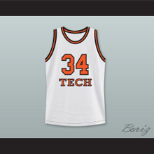 Jesus Shuttlesworth 34 Tech U Home Basketball Jersey He Got Game