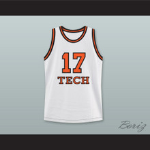 Rick Fox Chick Deagan 17 Tech U Home Basketball Jersey He Got Game
