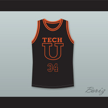 Jesus Shuttlesworth 34 Tech U Away Basketball Jersey He Got Game