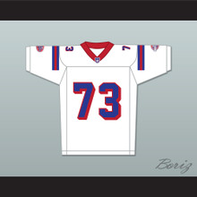Michael Taliferro Andre Jackson 73 Washington Sentinels Away Football Jersey The Replacements Includes League Patch